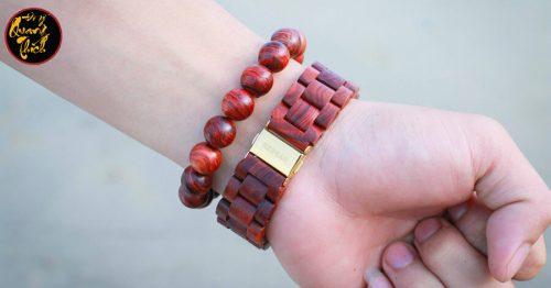 Vòng đeo tay gỗ sưa quý hiếm