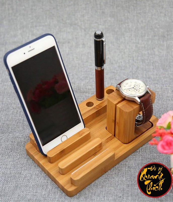 Kệ Gỗ Smartphone Cao Cấp QT01