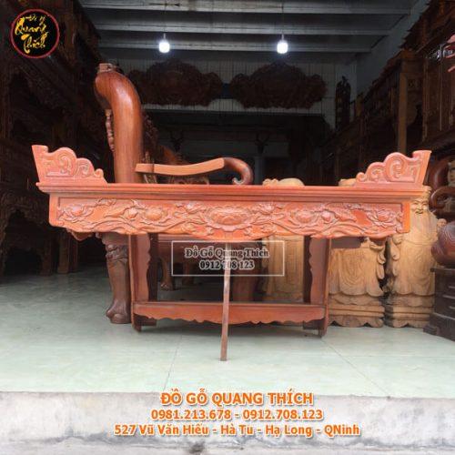 Bàn Thờ Treo Tường Gỗ Mít Cao Cấp 107x61cm