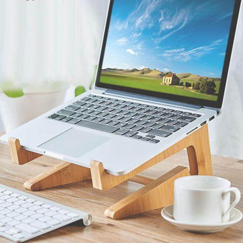 Kệ Đỡ Laptop Gỗ Đa Năng Giá Rẻ QT02