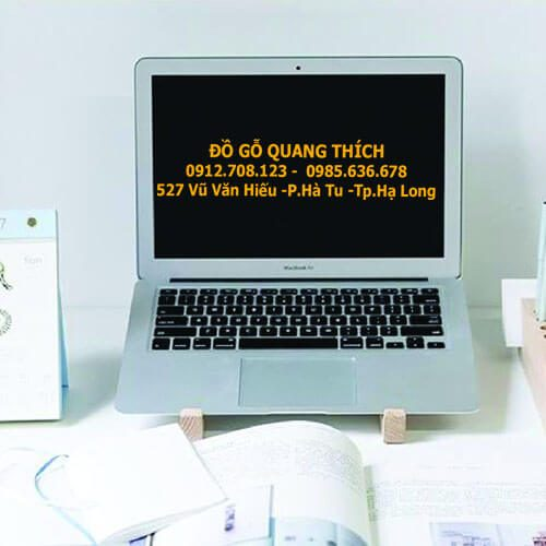 Kệ Kê Chân Laptop Bằng Gỗ QT03