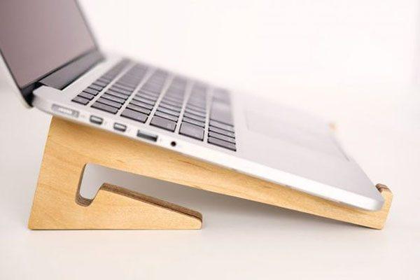 Kệ Laptop, Giá Đỡ Laptop Bằng Gỗ QT04