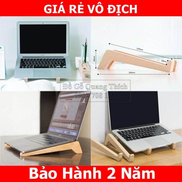 Kệ Laptop, Giá Đỡ Laptop Bằng Gỗ QT03
