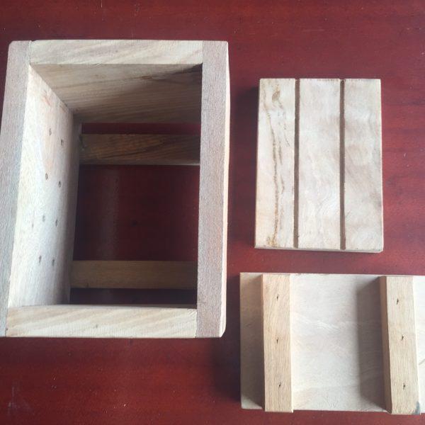 Khuôn làm đậu phụ bằng gỗ an toàn 2